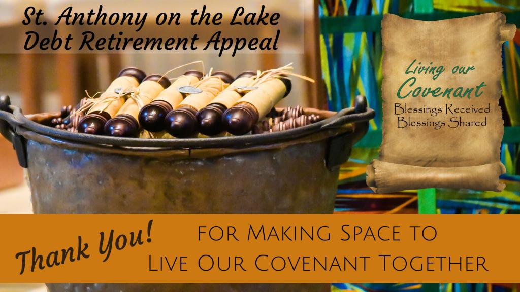 Living our Covenant Debt Retirement Appeal