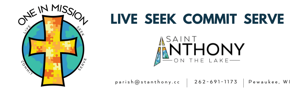 St. Anthony on the Lake Catholic Church and School, W280N2101 Prospect Avenue, Pewaukee, WI 53072