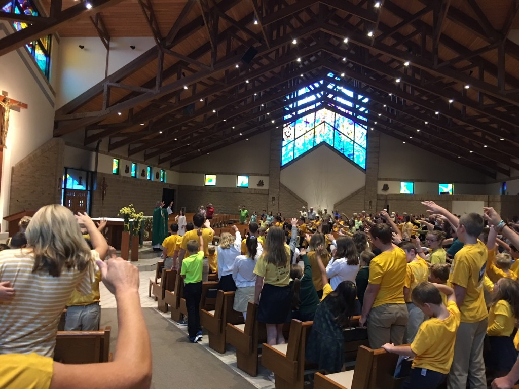 Childhood Cancer Awareness Mass