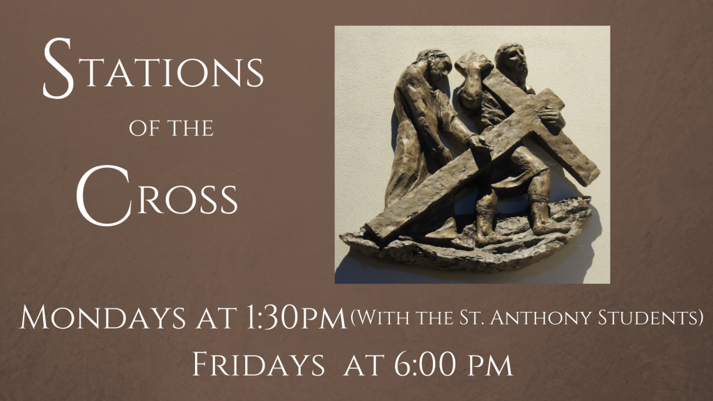 Stations of the Cross at St. Anthony on the Lake