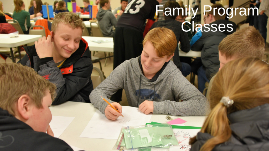 Family Program Classes for Middle School