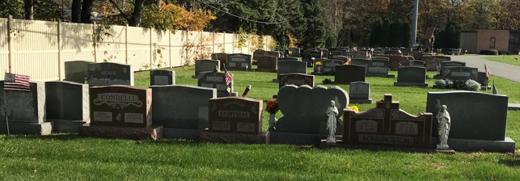cemetery information holy family catholic church