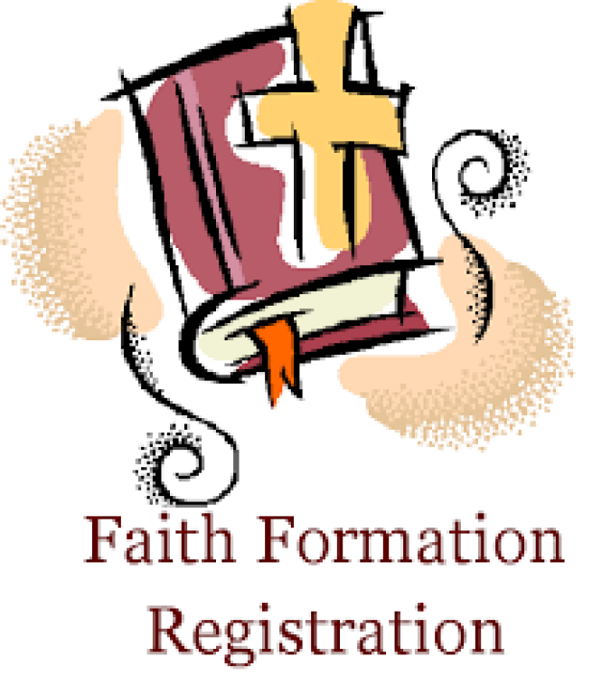 Faith Formation Registration Forms and Information   St