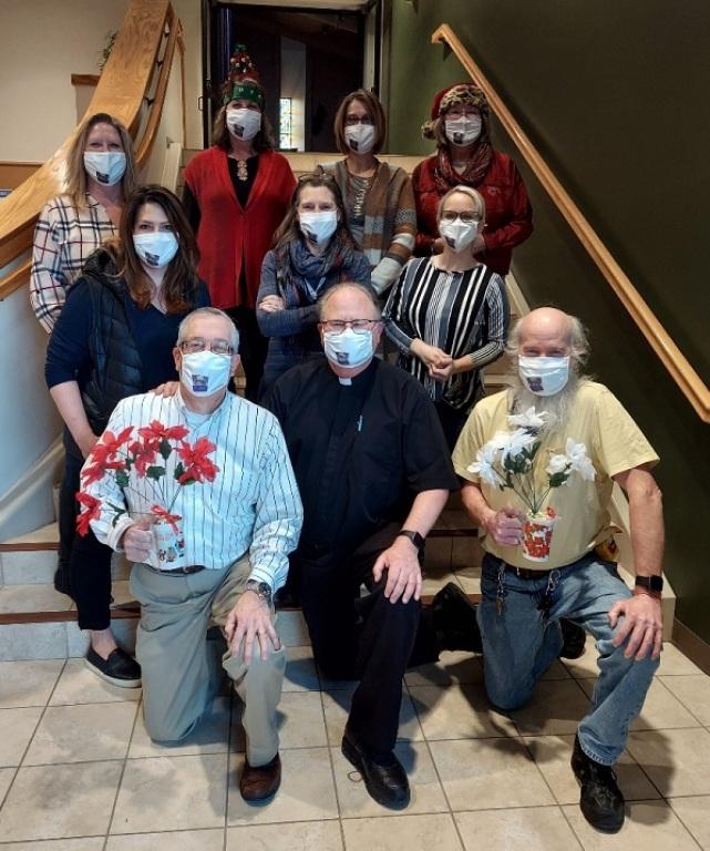 2020 Staff Christmas pic
