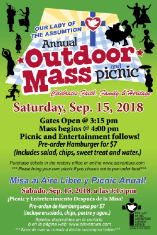 Outdoor Mass 2018