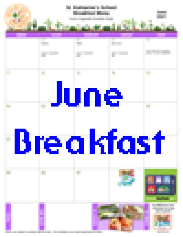 June Breakfast