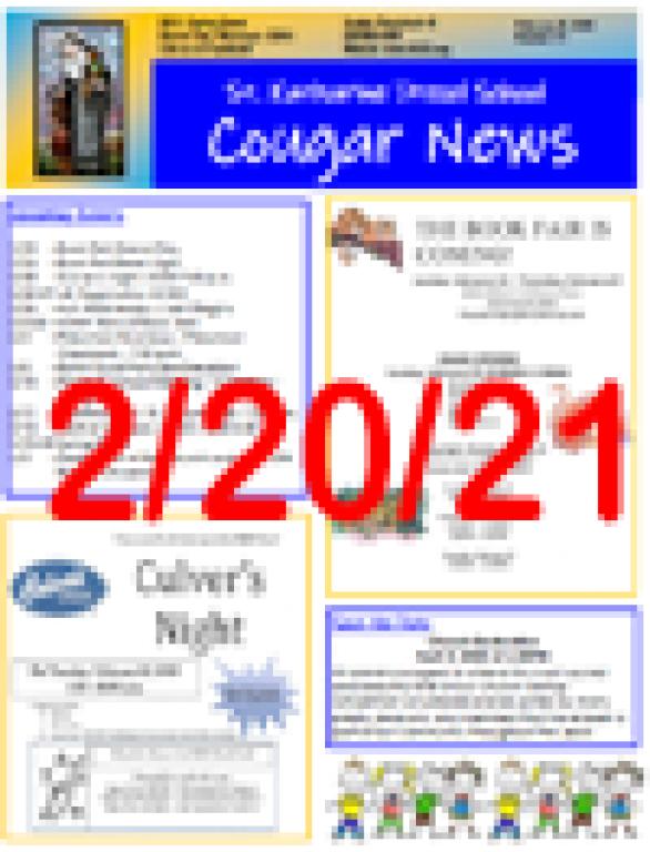 February 20, 2020 Newsletter