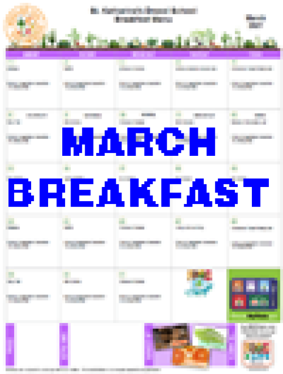 March Breakfast
