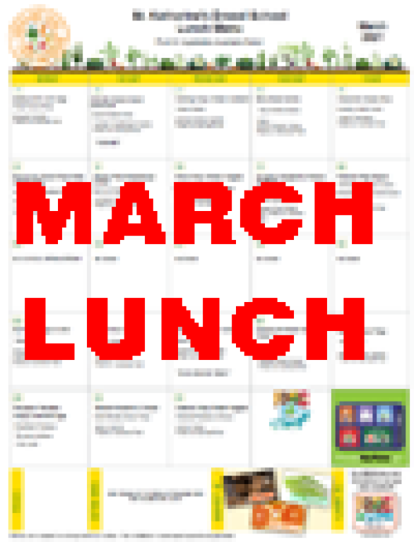 March Lunch