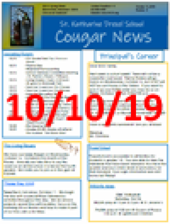 October 10 Newsletter