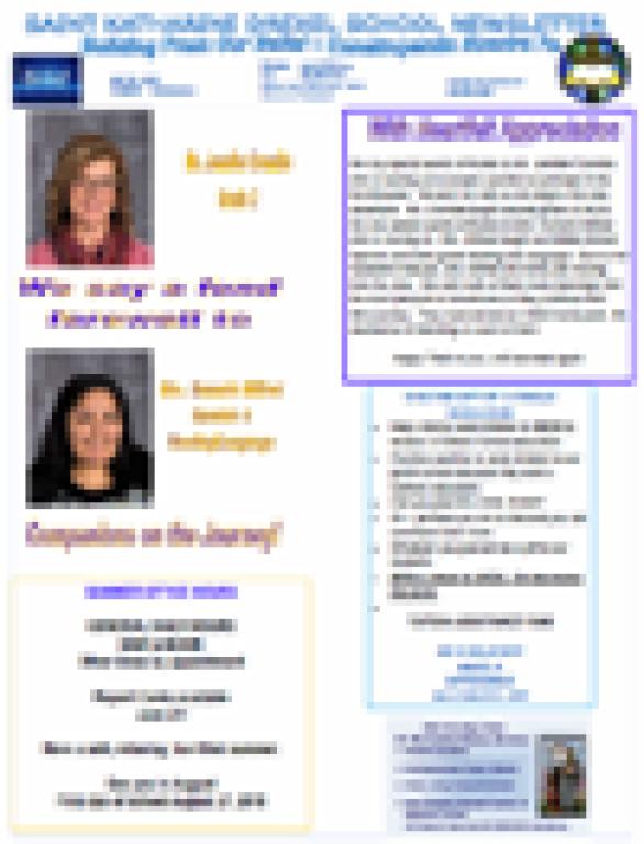 Newsletter 32 Addendum