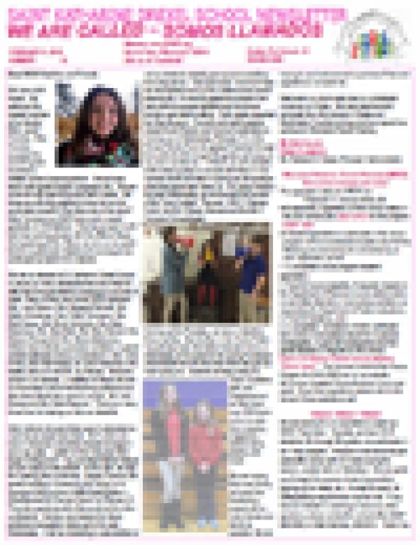 Newsletter 18 February 8, 2019
