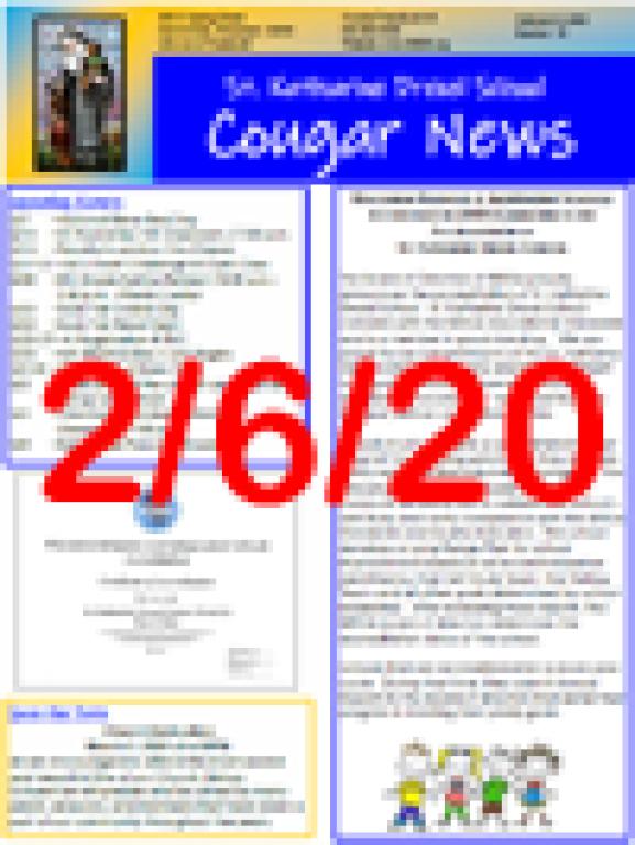 February 6, 2020 Newsletter
