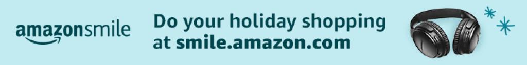 Amazon Smile Christmas Banner