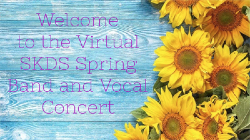 Spring Virtual Band and Chorus Concerts