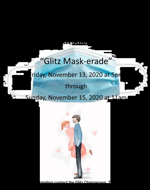 Glitz Mask-erade