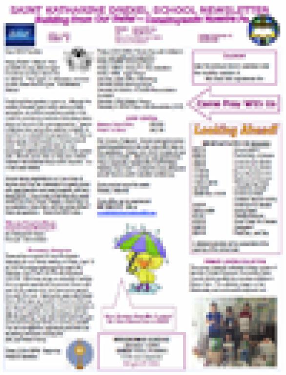 Newsletter 25, April 6, 2018