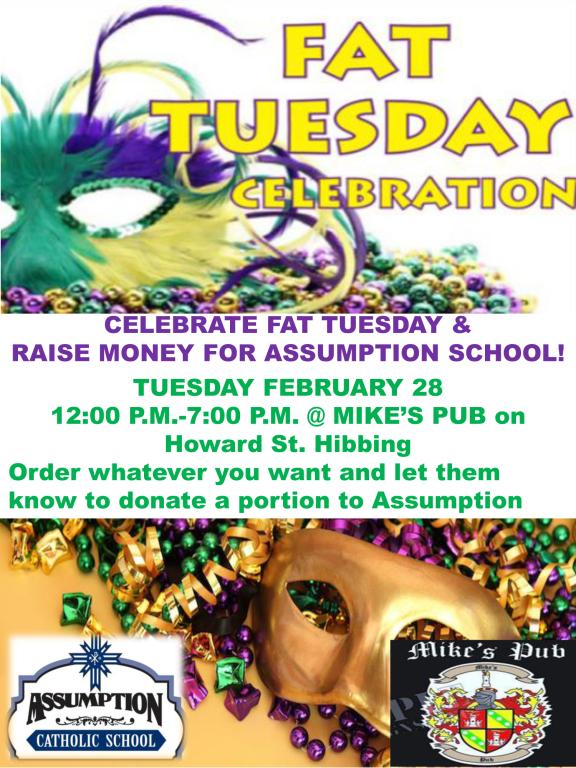 Fat Tuesday Fundraiser