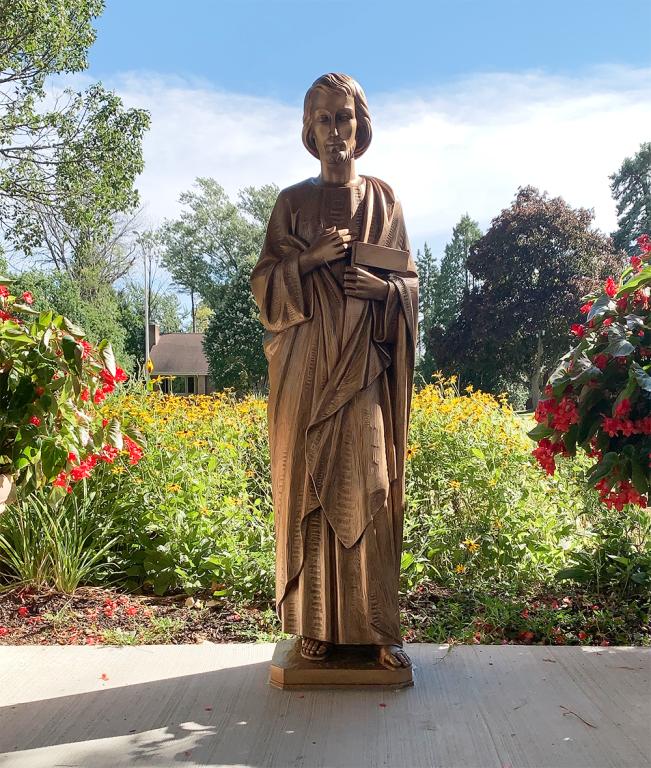 St Joseph Statue, St Joseph Catholic Church, Wauwatosa