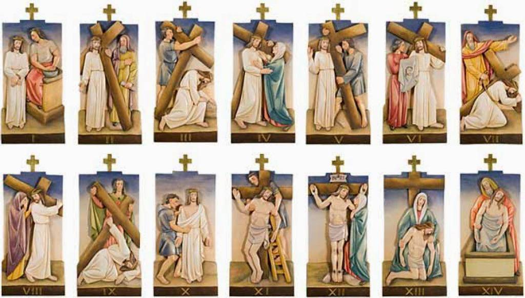 Image result for stations of the cross image