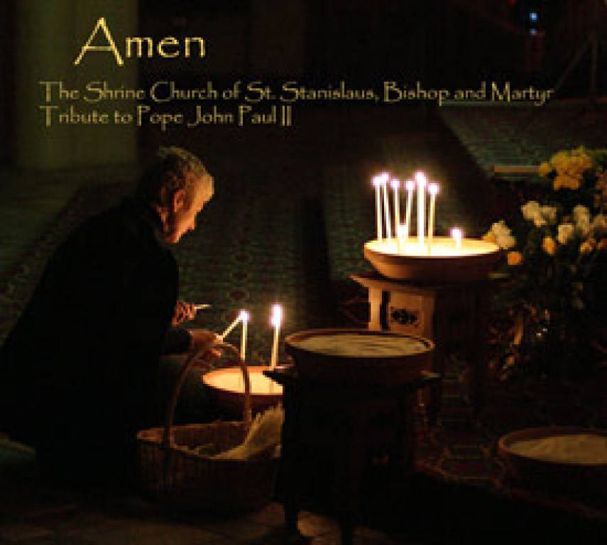 CD Cover showing prayer