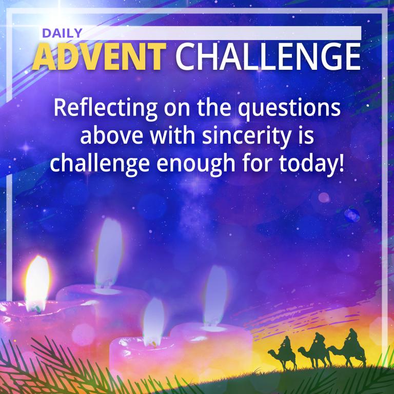 December 13 Advent Challenge
