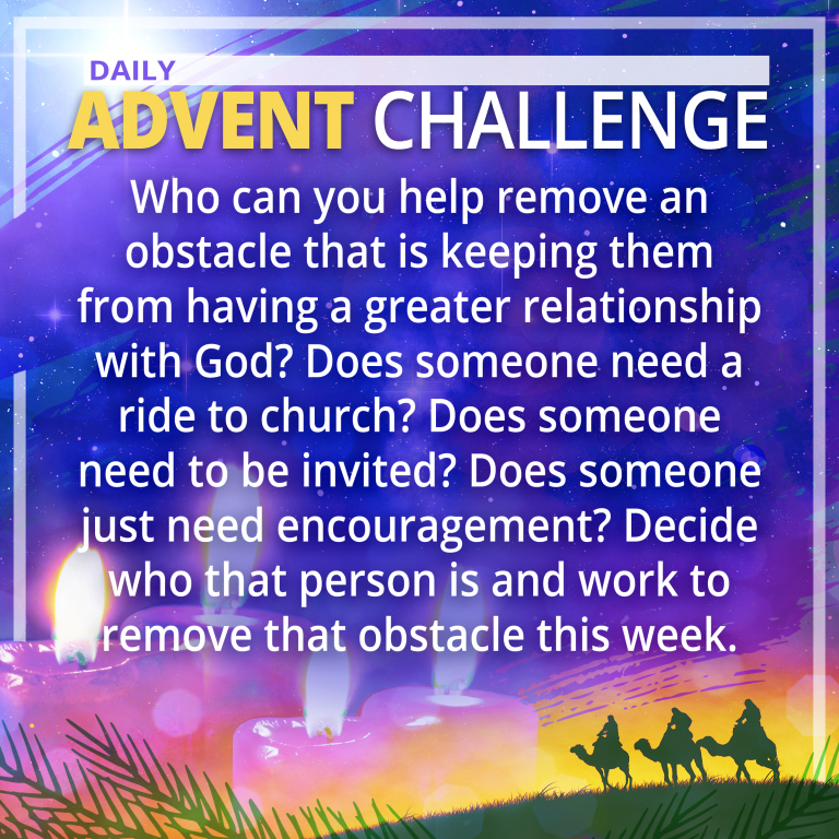 Dec. 11 Advent Challenge