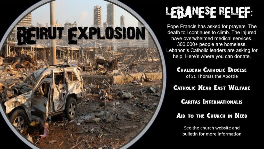 Beirut Explosion Relief