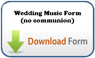 Wedding Planning Form no communion