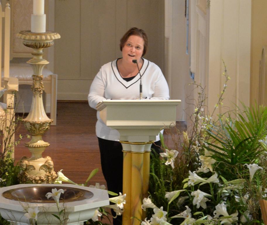 Cantor at Maternity BVM Catholic Church