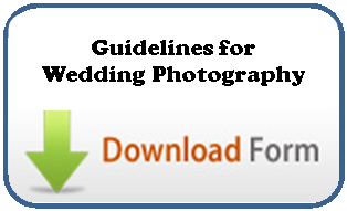 Guidelines for wedding photography
