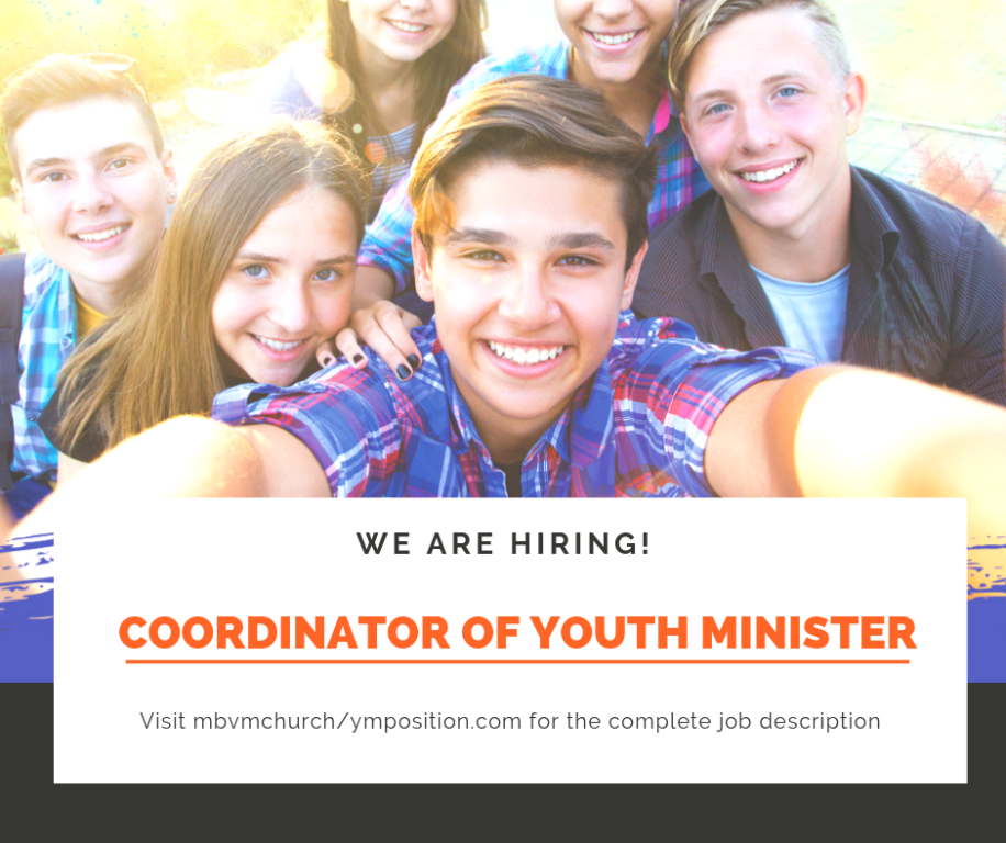 youth minister position