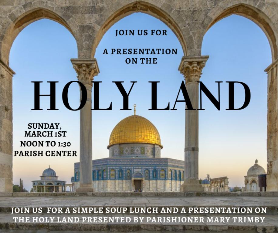Holy Land Presentation