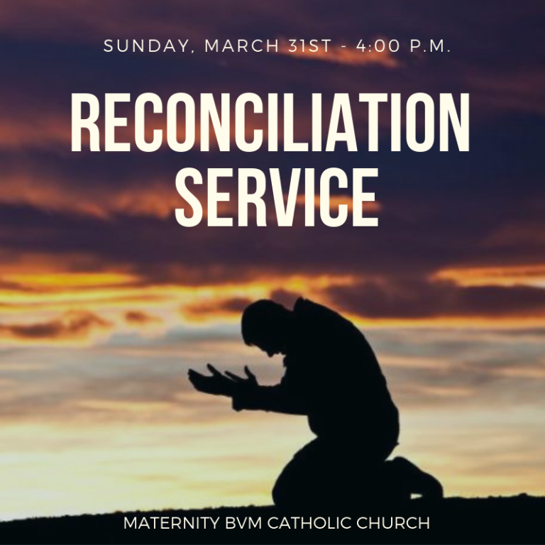 reconciliation for lent