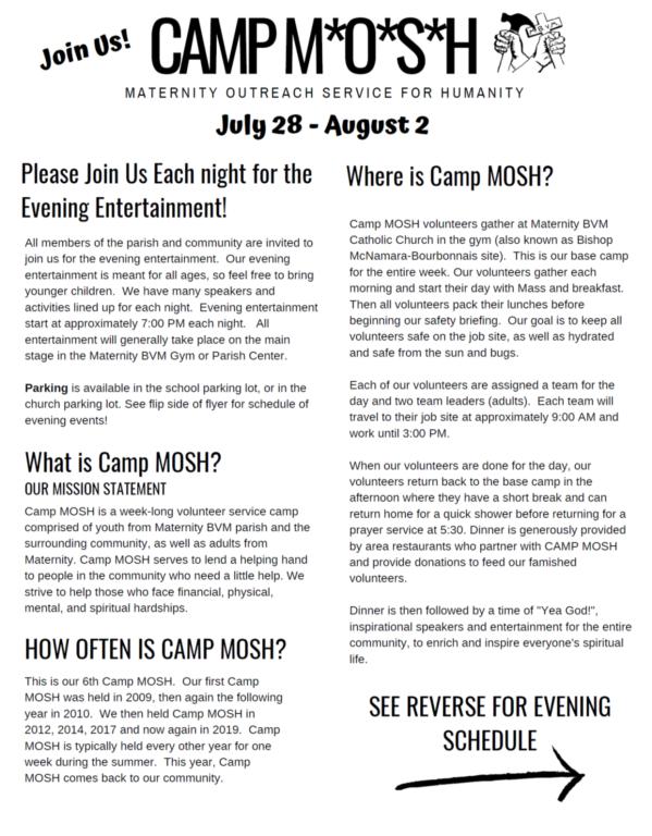 Evening Entertainment 2