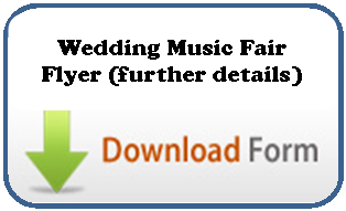 Wedding Music Fair Flyer