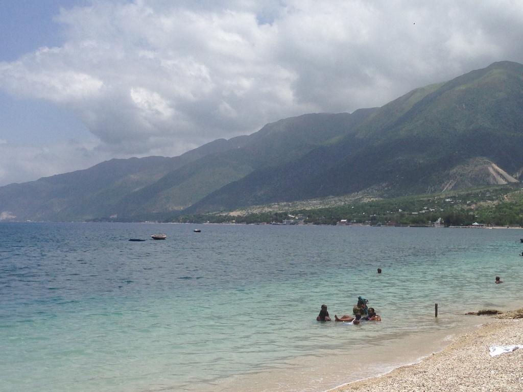 Ocean in Haiti