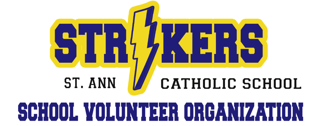 St. Ann Catholic School SVO Striker LOGO