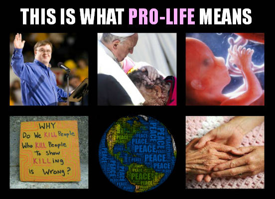 Pro Life Means