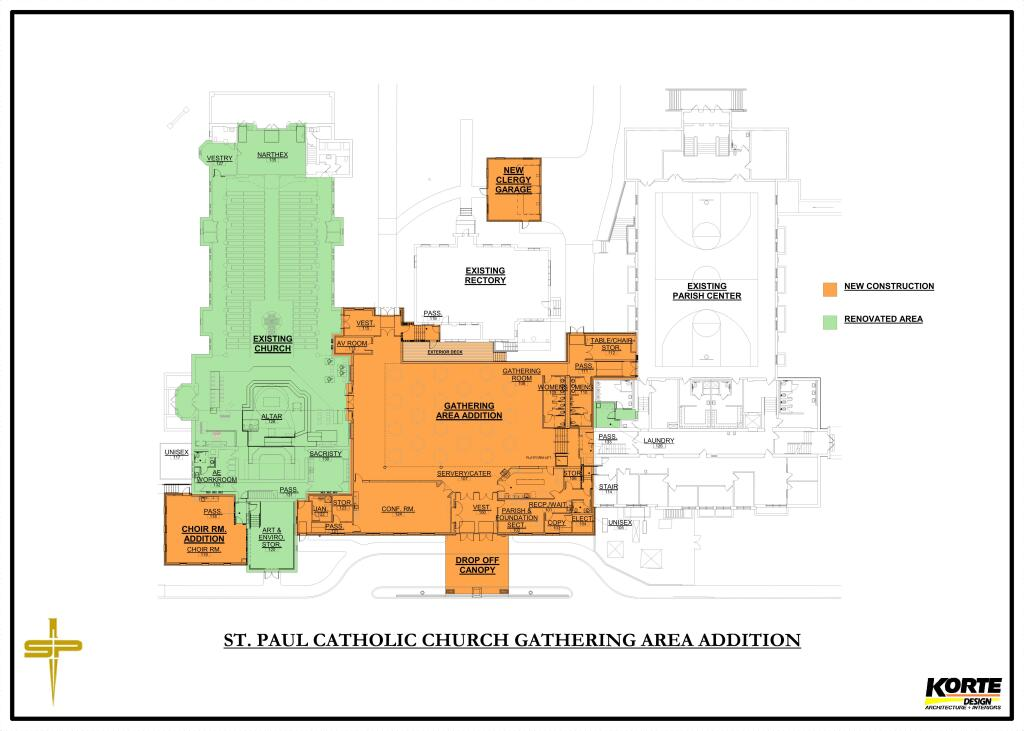 St. Paul Phase III layout