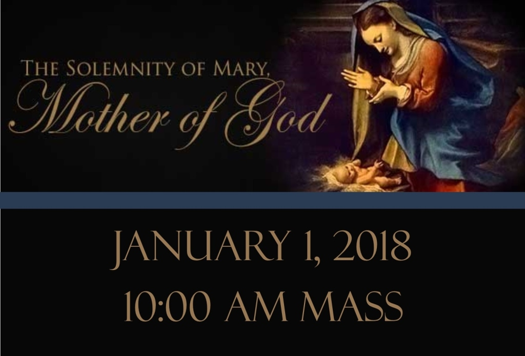 New Year S Day Mass Schedule Saint Isabel Catholic Church