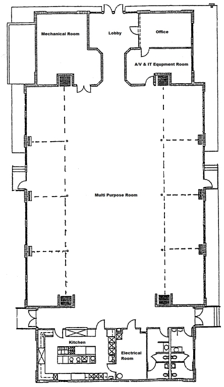 Parish Hall Floor Plan