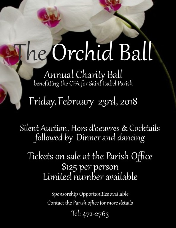 St. Isabel Parish Orchid Ball