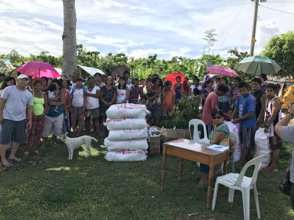 Typhoon Nina Relief Operation -Virac