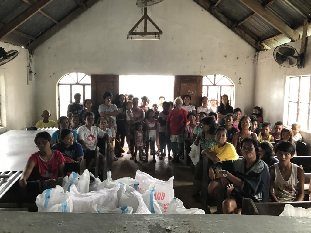 Typhoon Nina Relief Operation