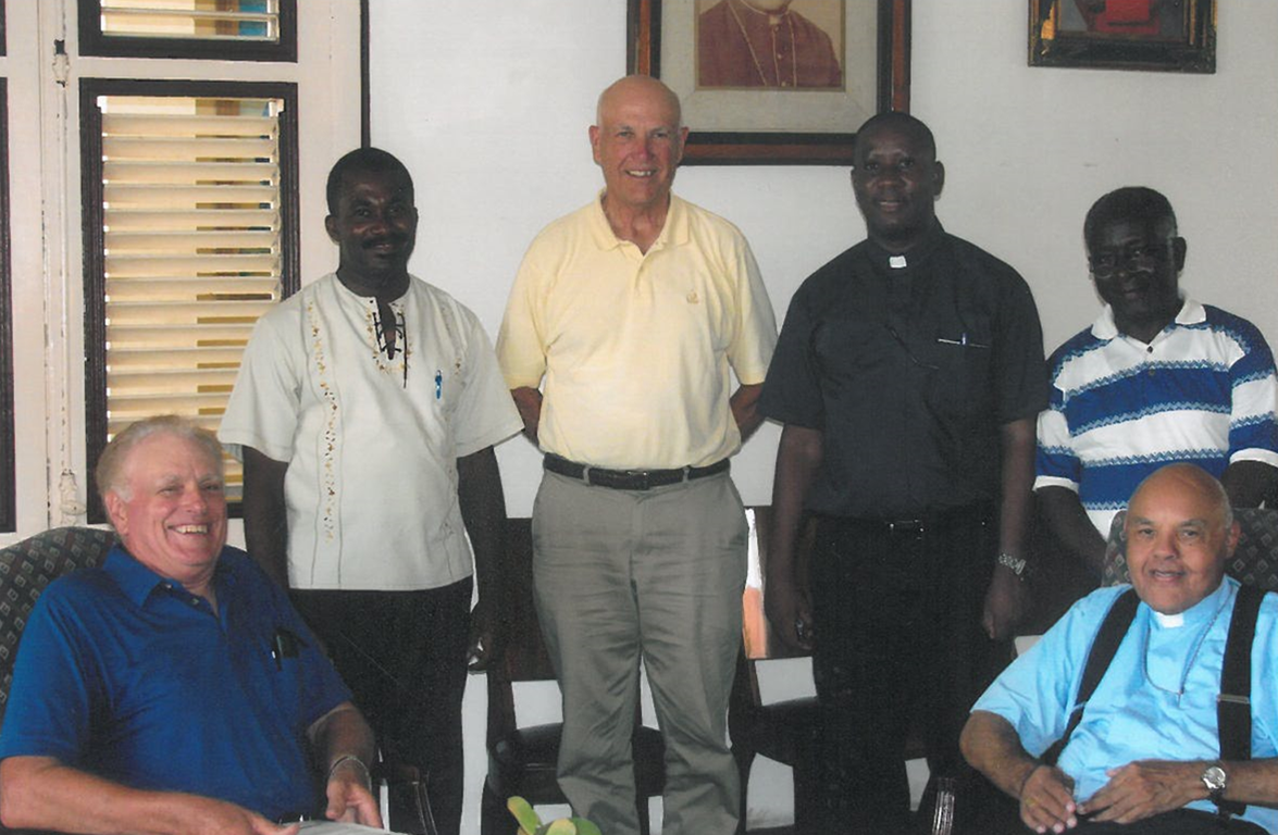 Archbishop in Haiti