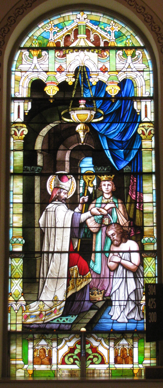 baptism of St. Remy