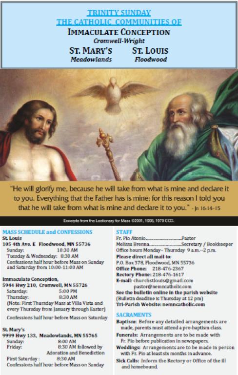 June 9 Bulletin