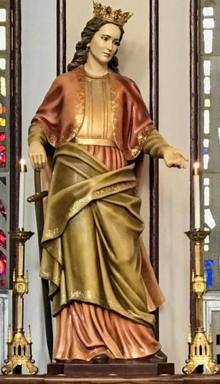 St Dymphna Shrine at St. Mary's