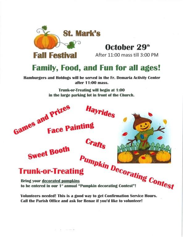 Fall Festival flyer Image